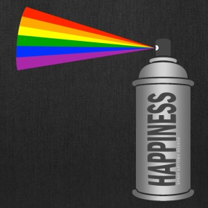 happiness spray can rainbow Bags & backpacks - Tote Bag