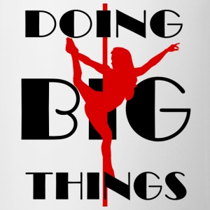 Doing BIG Things Red Coffee Mug - Coffee/Tea Mug