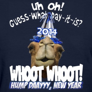 Hump Day Camel 2014 New Years Eve Party T-shirt - Women's T-Shirt