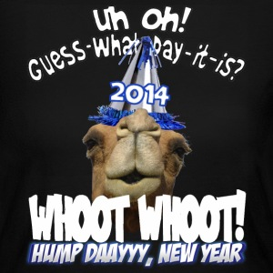Hump Day Camel 2014 New Years Eve Party T-shirt - Women's Long Sleeve Jersey T-Shirt
