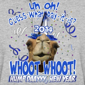 Hump Day Camel 2014 New Years Eve Party Hoodie - Women's Hoodie