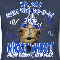 Hump Day Camel 2014 New Years Eve Party T-shirt