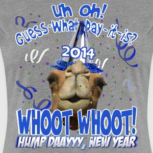 Hump Day Camel 2014 New Years Eve Party T-shirt - Women's Premium T-Shirt