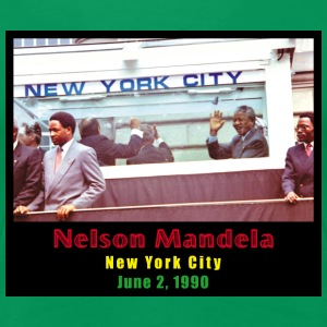 Nelson Mandela in NYC - Women's Premium T-Shirt