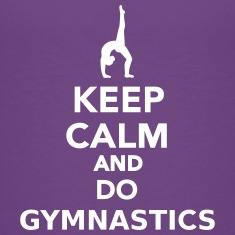 Keep calm and do Gymnastics Kids' Shirts
