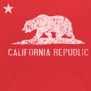 California Republic Flag Distressed Sweatshirts - Kids' Hoodie