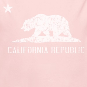 California Republic Flag Distressed Baby & Toddler Shirts - Long Sleeve Baby Bodysuit