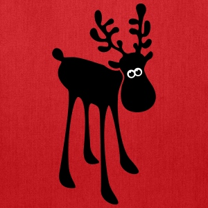 moose caribou reindeer rudolph elk  antlers Bags & backpacks - Tote Bag