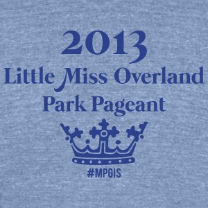 Most Popular Girls Little Miss Overland T-Shirts - Unisex Tri-Blend T-Shirt by American Apparel