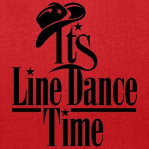 ITS LINE DANCE TIME, COWBOY HAT Bags & backpacks - Tote Bag