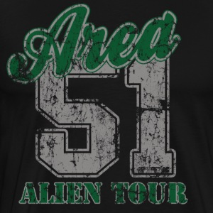 Area 51 Tour T-Shirts - Men's Premium T-Shirt