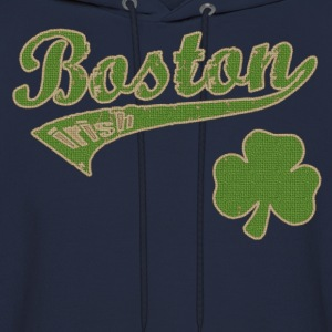Boston Irish Shamrock Hoodies - Men's Hoodie