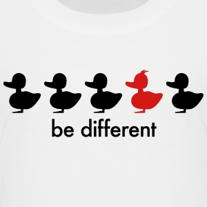be different cute duck iroquoise ducklings Baby & Toddler Shirts - Toddler Premium T-Shirt