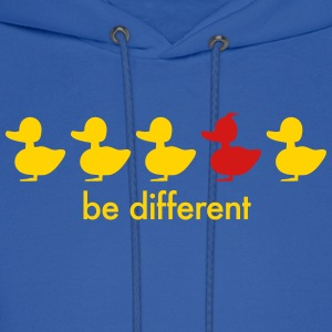 be different cute duck iroquoise ducklings Hoodies - Men's Hoodie