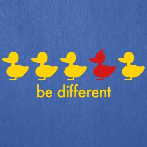 be different cute duck iroquoise ducklings Bags & backpacks - Tote Bag