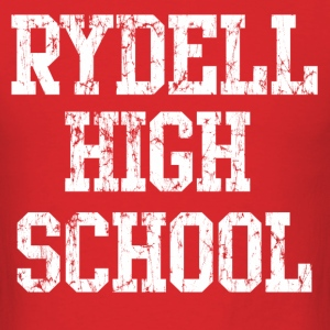 Retro Rydell High School T-Shirts - Men's T-Shirt