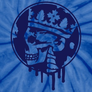 Skull with a crown T-Shirts - Unisex Tie Dye T-Shirt