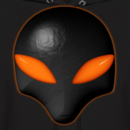 Design ~ Alien Bug Face - Orange Eyes