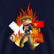 Design ~ Men's XerainGaming Fire Dan T-Shirt
