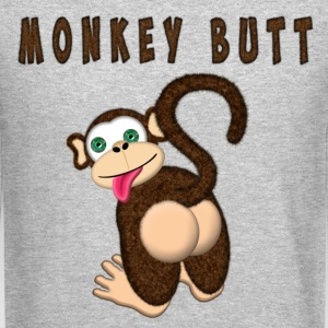Monkey Butt Long Sleeve Shirts - Crewneck Sweatshirt