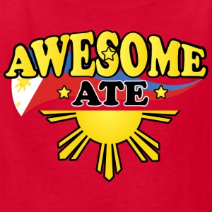 Funny Damit Awesome Ate Kids' Shirts - Kids' T-Shirt