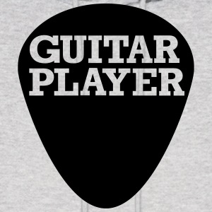 Guitar player Hoodies - Men's Hoodie