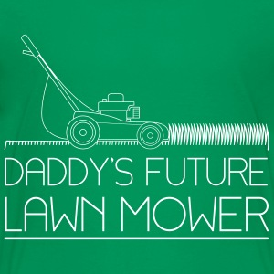 Daddy's future lawn mower Kids' Shirts - Kids' Premium T-Shirt