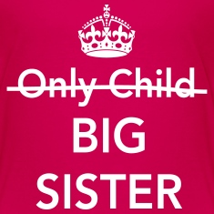 Only child. Big sister Kids' Shirts
