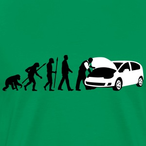 evolution_kfz_mechaniker_122013_b_2c T-Shirts - Men's Premium T-Shirt