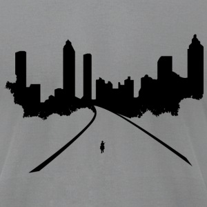 Road to Atlanta - Men's T-Shirt by American Apparel