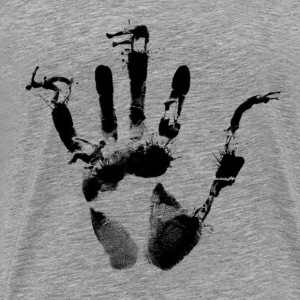 Parkour Handprint - Men's Premium T-Shirt