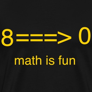 Math is Fun T-Shirts - Men's Premium T-Shirt