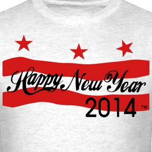 HAPPY YEAR 2014 T-Shirts - Men's T-Shirt