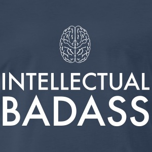 Intellectual Badass T-Shirts - Men's Premium T-Shirt