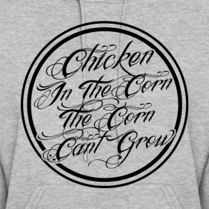 Chicken In The Corn - Women's Hoodie