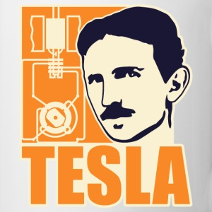 Researchers and developers: Tesla + electric motor Bottles & Mugs - Coffee/Tea Mug