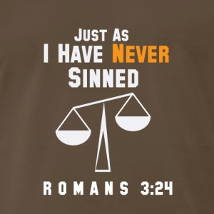 Justified: Just As I Have Never Sinned - Men's Premium T-Shirt
