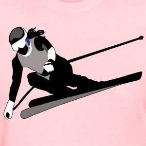 Skiing - Women's T-Shirt