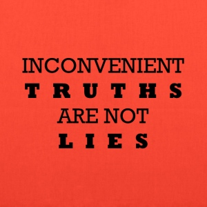 Inconvenient Truths Bags & backpacks - Tote Bag