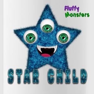 Star Child Fluffy Monster Bottles & Mugs - Water Bottle
