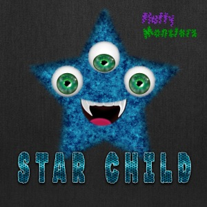 Star Child Fluffy Monster Bags & backpacks - Tote Bag