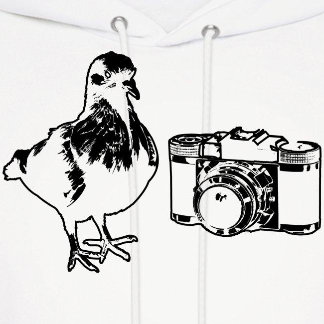 Pigeon Camera Hoodie