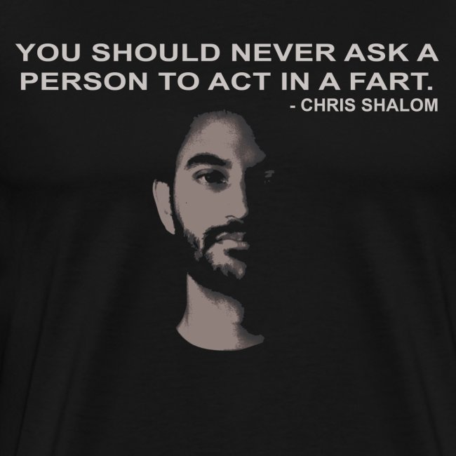 Act in a Fart - Black Men's