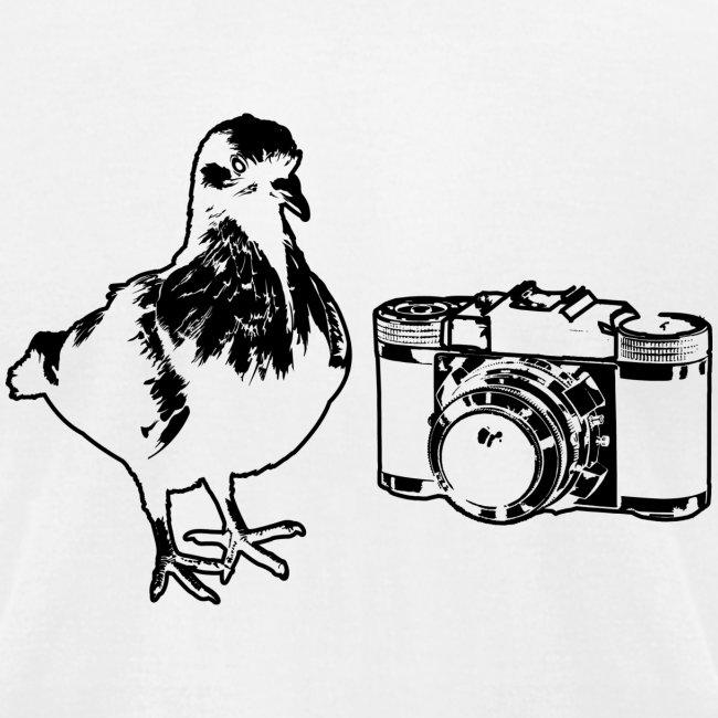 'Pigeon Camera' Tee