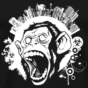 Urban Monkey T-Shirts - Men's Premium T-Shirt