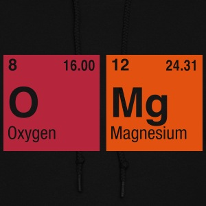 OMg written with Elements of the Periodic Table Hoodies - Women's Hoodie