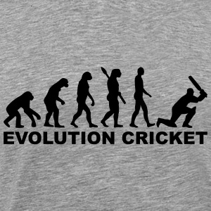 Evolution Cricket T-Shirts - Men's Premium T-Shirt