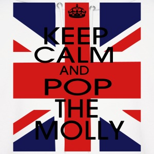 KEEP CALM AND POP THE MOLLY Hoodies - Men's Hoodie