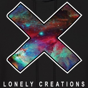 Lonely Creations Galaxy X One Hooded Sweatshirts - Men's Hoodie