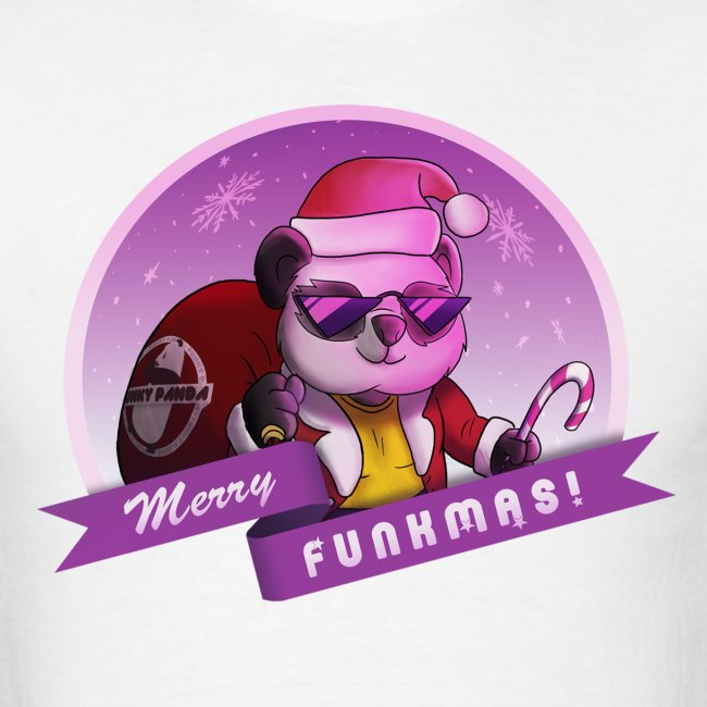 "Funky Panda's ""Merry Funkmas"" Tee"